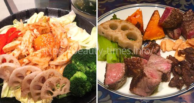 GLP-1ダイエット中の食事(サラダ)